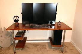 Gaming Desk Cheap Computer Desks For Cheap Build Your Own Diy Gaming Desk Ikea