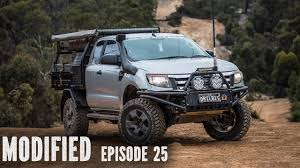 mitsubishi adventure modified ford ranger px modified episode 25 youtube