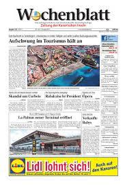 B Om El Schreibtisch Wochenblatt Zeitung Der Kanarischen Inseln Ausgabe 153 22