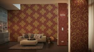 wandgestaltung gold uncategorized geräumiges wandgestaltung rot gold designtapeten