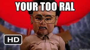 Kim Jong Il Meme - your too ral team america kim jong il meme generator
