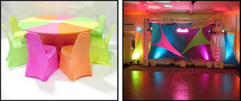 neon party supplies theme for absolutely fabulous events and productions
