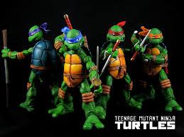 neca teenage mutant ninja turtles comic style a photo on