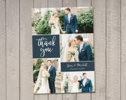wedding thank you postcards wedding thank you cards etsy