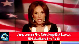 judge jeanine pirro hair judge jeanine pirro takes huge risk exposes michelle obama live on