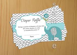 baby shower raffle teal elephant baby shower raffle ticket raffle