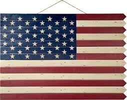 American Flag Tapestry Wall Hanging Plow U0026 Hearth Wooden Americana Flag Wall Décor U0026 Reviews Wayfair