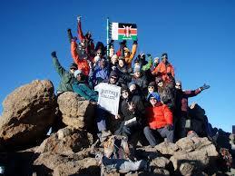 Images Kenya Flag Climb Mount Kenya Bkenya Nairobi