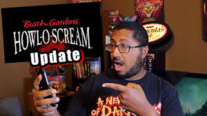 howl o scream vs halloween horror nights howl o scream update 2017 youtube