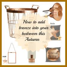 H M Home Decor by How To Add Bronze Into Your Bedroom This Autumn Asda Home H U0026m