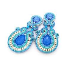 soutache earrings soutache earrings clip on earrings post earrings sabo design