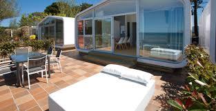 bungalows in galicia camping bayona
