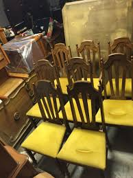 Antique Dining Room Chairs For Sale by Set Of 6 Vintage Bassett Dining Room Chairs For Sale In Wylie Tx