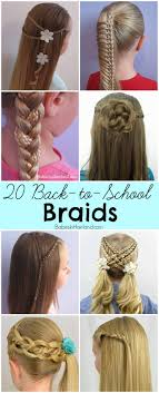 hairstyles for back to school for long hair 20 back to school braids babes in hairland
