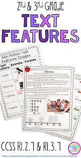 Fiction Vs Nonfiction Worksheet 89 Best Text Features Images On Pinterest Teaching Reading
