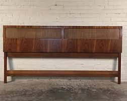 Wooden King Size Headboard by Midcentury Headboard Etsy