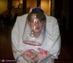 headless scientist halloween costume