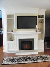 Fireplace With Built In Cabinets Wall Units Amazing Built In Entertainment Center Around Fireplace