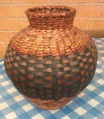 Large Wicker Vases Wicker Vases And Decorative Sticks Vases U0026 Bowls Gumtree
