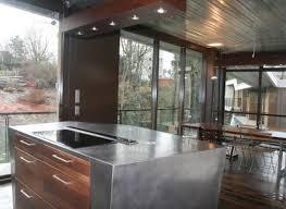 cuisine inox cuisine inox sur mesure évier mobilier table crédence plan