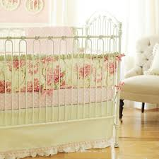 Pink And Green Crib Bedding Pink Crib Bedding Design Ideas