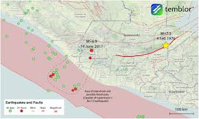 Southern Mexico Map by Deep M U003d6 9 Earthquake In Guatemala Possibly Preceded By Foreshock