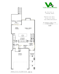 oliver home model and floor plan u2022 van arbor homes