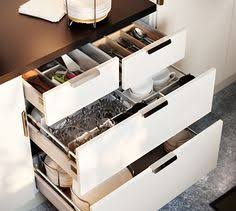 Kitchen Drawers Instead Of Cabinets by The Drawer Within A Drawer Feature In The Ikea Sektion Kitchen