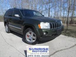 green jeep grand cherokee used green jeep grand cherokee for sale from 1 295 to 55 555