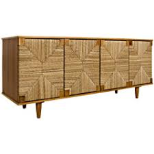 noir brook 4 door teak sideboard
