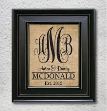 monogrammed wedding gifts best 25 monogram wedding gifts ideas on name pallet