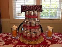 coors light gift ideas coors light beer can cake with matching shirt peanuts and beer