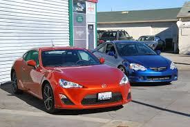 frs toyota 2013 2013 scion fr s vs 2002 acura rsx type s ebay motors blog