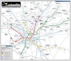Dallas Metro Map by Milan Map