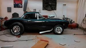 1957 corvette gasser 1957 corvette gasser scale auto magazine for building plastic