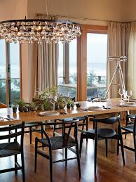 stylish contemporary chandeliers for dining room bubble light