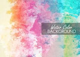 multicolor watercolor background vector free download