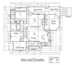 4 bedroom country cottage house plan by cottage house car