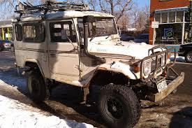 homemade jeep snorkel snorkel ized rhd diesel land cruiser laughs at denver winter