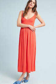 orange dress maxi dresses midi dresses anthropologie