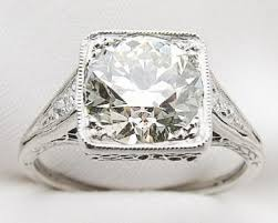 platinum diamonds rings images Deco 2 carat diamond engagement ring art deco diamond engagement jpg