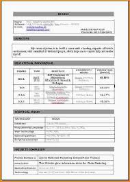 Online Resume For Job by 7 Resume For Job Application For Freshers Paradochart