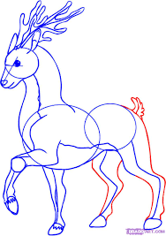 how to draw a cartoon deer step by step cartoon animals animals