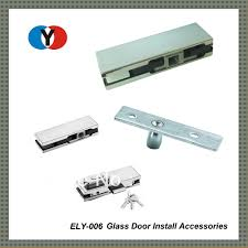 glass door pivot dhl shipping free mab type glass clamp patch fitting top pivot for