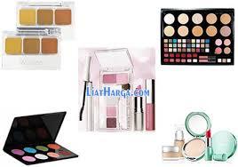 Daftar Paket Make Up Wardah daftar harga peralatan make up wardah satu set terbaru 2018