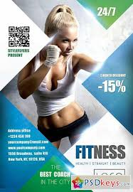 fitness flyer template fitness psd flyer template cover free