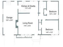 1 Bedroom Cottage Floor Plans 1 Bedroom Basement Apartment Floor Plans House With Open Plan