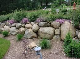 Tiered Backyard Landscaping Ideas Tier Gardening Two Tiered Garden With Rock Mulching Problem