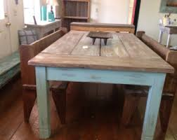 Farmhouse Table Etsy - Old kitchen tables
