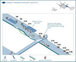 Atlanta Airport Map Delta by Minneapolis U2013saint Paul International Airport Msp Maplets